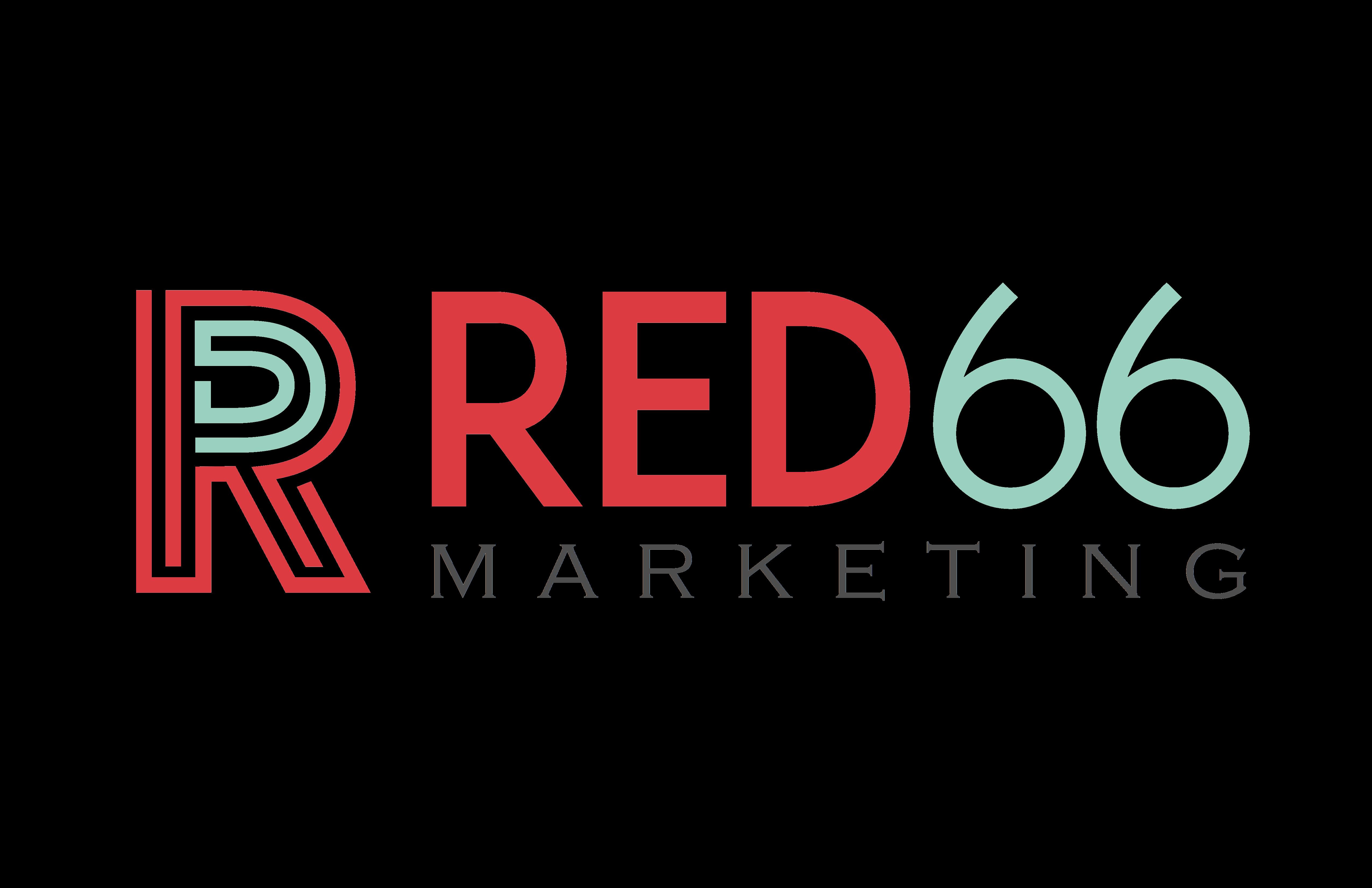 RED66 Marketing Logo Transparent